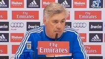 Rueda de prensa de Ancelotti previa al Real Madrid - Sevilla
