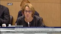 TRAVAUX ASSEMBLEE 14EME LEGISLATURE : Audition de Mme Marylise Lebranchu, ministre de la Réforme de l'État, de la décentralisation et de la fonction publique.