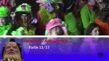Carnaval de Bailleul 2012, partie 13/17 - Final des masques avec l'HMB