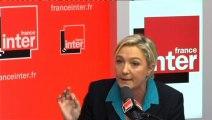 """Marine Le ¨Pen : Le terme """"extrême droite"""" est une arme politique"""