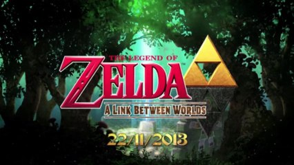 The Legend of Zelda: A Link Between Worlds - Official Trailer - da Nintendo