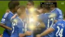 Arsenal vs Chelsea 0 1 Goal Cesar Azpilicueta 28.10.2013