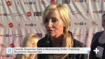 Camille Grammer Gets A Restraining Order Claiming Boyfriend Abused Her