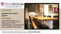 Appartement 1 Chambre à louer - Canal St Martin, Paris - Ref. 7329