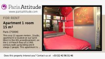 Studio Apartment for rent - Centre George Pompidou, Paris - Ref. 6042