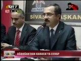 AKP Sivas İl Başkan Yardımcısı Erdal Karaca'ya BBP'den Kınama
