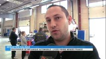 Rallye des Cévennes : des élèves du Lycée Pierre-Mendes France assurent l'assistance technique