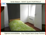Achat Vente Maison SAINT QUAY PORTRIEUX 22410 - 80 m2