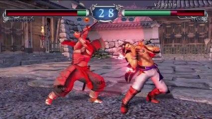 Mitsurugi VS Maxi de Soulcalibur II HD Online
