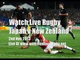 Watch Japan vs All Blacks Live Rugby
