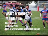 Watch Live Rugby Stream Rovigo vs Mogliano