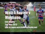 See Online Rugby Rovigo vs Mogliano Live