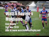 Watch Online Rugby Rovigo vs Mogliano