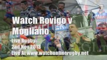 Rovigo vs Mogliano Rugby Watch TV