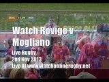 Rugby Rovigo vs Mogliano Online