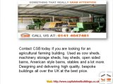 Agricultural & Farming Steel Buildings |Capital Steel Buildings