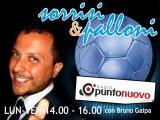 "Soccermagazine, Emanuele Celeste in ""Sorrisi e Palloni"" su Radio Punto Nuovo - 31/10/13"