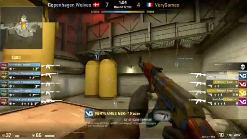 VeryGames vs. CPH Wolves 2013 Group B