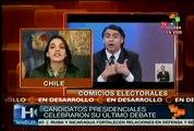 Candidatos presidenciales chilenos difieren en propuestas educativas
