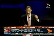 Denuncia Xiomara Castro de Zelaya campaña sucia en contienda electoral