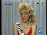 Hard la Miss France Blonde et stupide