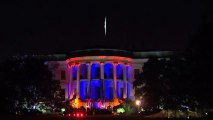 White House decked out for Halloween