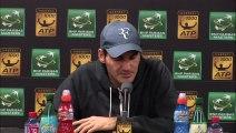 """Roger Federer : """"J'aime les revers à une main au Masters"""""""