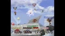 Super Smash Bros. Melee   Melee Gameplay   Part 7   Nintendo GameCube (GCN)   Corneria