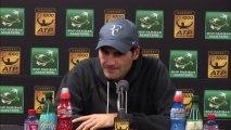 Roger Federer:'I expect some heavy hitting'