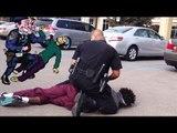 Police brutality?  Cops arrest black guys in white church in Huntsville, Alabama