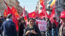Italian bank workers strike amid job cuts