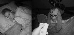 Halloween : il terrorise sa copine pendant son sommeil !