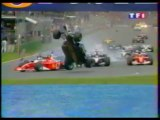Résumé saison F1 2002 avec les commentaires du live TF1