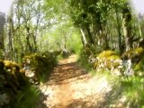 Deuxième pélerinage : du Puy en Velay à Santiago - 11 ème étape : de Saint Jean de Laur à Mas de Vers.