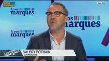 Les marques et leurs icônes: Valéry Pothain et Frank Tapiro, dans A vos marques - 02/10 1/4