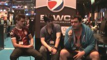 ESWC 2013 - Interview de Ex6TenZ et HaRts