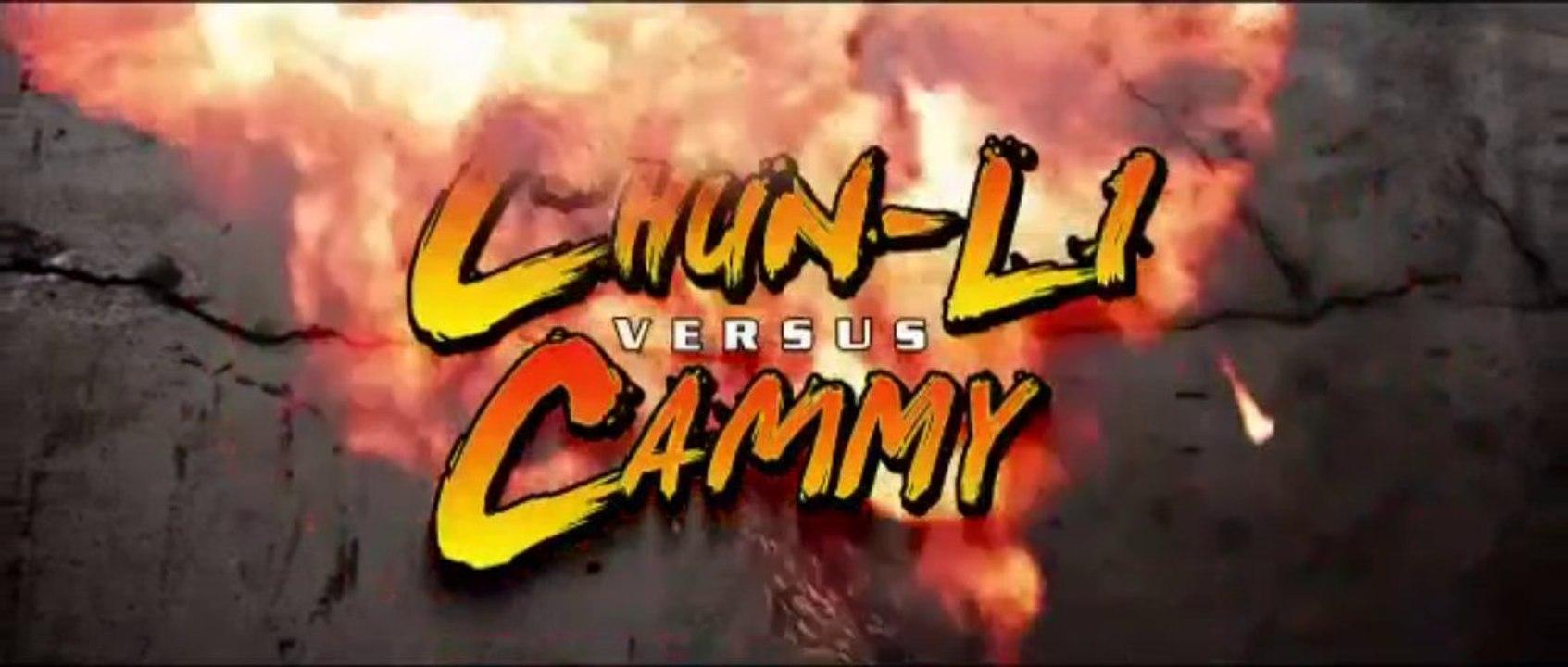 Chun-Li sparring Mod losing scenes!   Chun-Li barefoot Mod