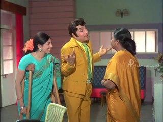 Ninaithathai Mudippavan - MGR cheats Sharada