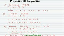 Fsc Math Book1, Ch 1, Lec 5: Properties of Real Numbers (Part 4)