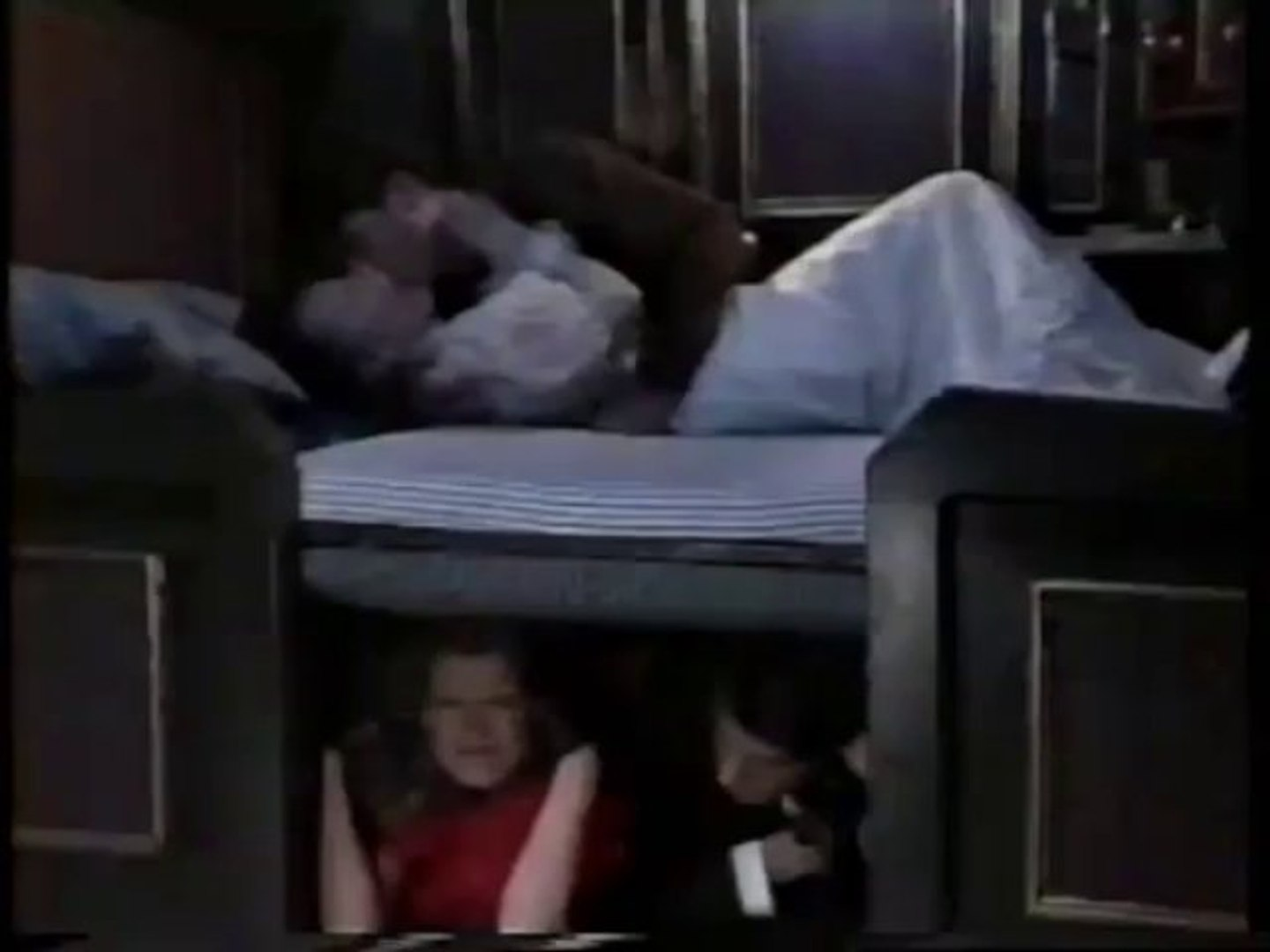 Jack & Jennifer - Angsty Kiss on The Great Train Adventure