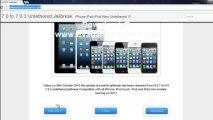 Evasion Jailbreak 7.0.3 iOS 7.0 Untethered iPhone 5, iPad