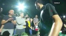 Novak Djokovic offre sa raquette à un des fils de Zlatan Ibrahimovic