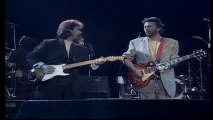 George Harrison & Eric Clapton - While My Guitar Gently Weeps (Live-1987)