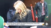 Portia De Rossi Opens Up About Being Gay! Says She Didn't Want To Be A Lesbian!
