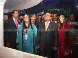 Bakhtawar and Aseefa bhutto zardari with President Zardari Visits Shanghai World Expo 10-07-10