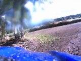 Yamaha 250 TTR vs quad dans les bois