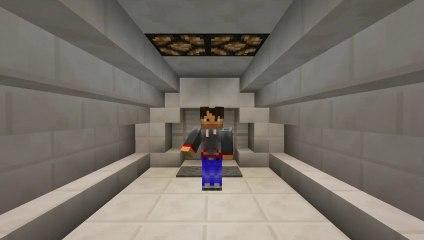 Minecraft: How to build a Stylish Piston Door Tutorial