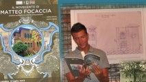 TG Icaro tv e radio Icaro, intervista a Andrea Speziali, mostra IL NOVECENTO DI MATTEO FOCACCIA