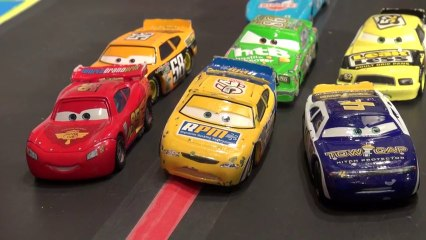 Pixar Cars for Little Kids with Lightning McQueen, Mater, and Red the Firetruck.