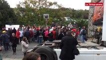 Morlaix. Tilly Sabco : les salariés bloquent le centre-ville
